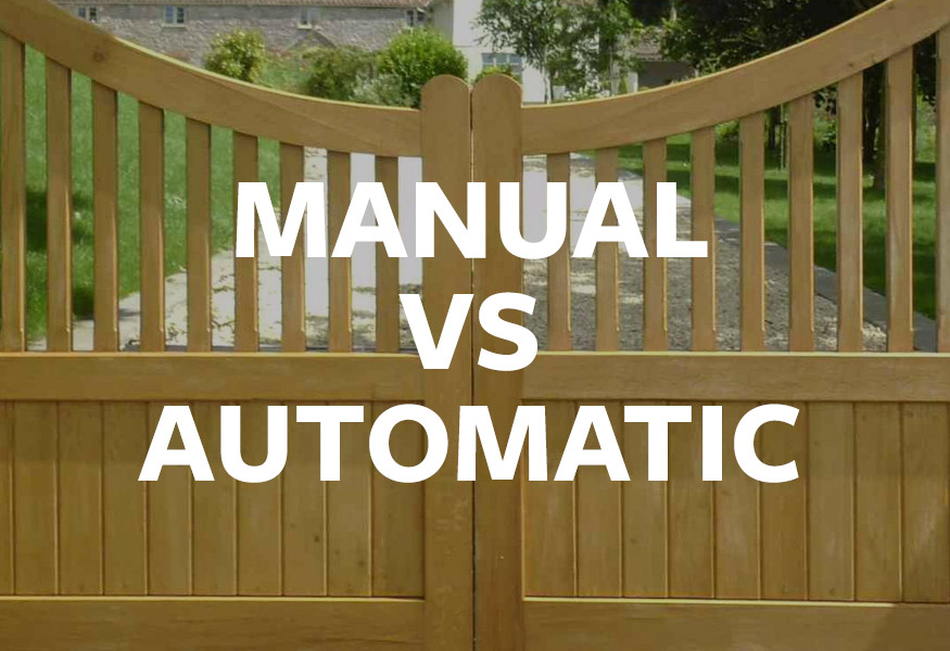 Manual vs Automatic gates