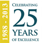 1988-2013 Celebrating 25 Years of Excellence